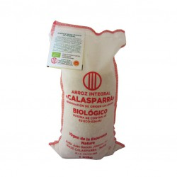 Whole rice cloth package from Calasparra 1kg