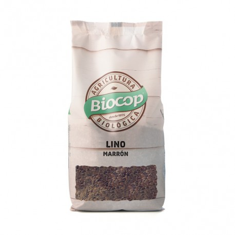 Brown flax seeds Biocop 500g