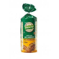 Rice and multi-cereal cakes Biocop 200 g