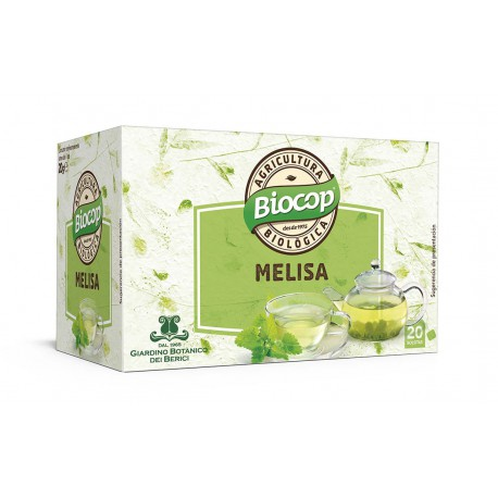 LEMON BALM (MELISSA) HERBAL TEA BIOCOP 20 BAGS