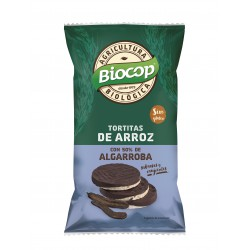 RICE CAKES WITH CAROB COVER BIOCOP 100 G
