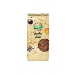 CRISPY CEREAL SHELLS WITH CHOCOLATE BIOCOP 250 G