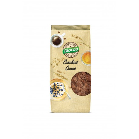 CRISPY CEREAL SHELLS WITH CHOCOLATE 250 G