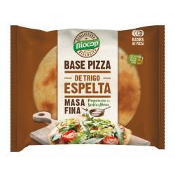 THIN CRUST SPELT PIZZA BASES BIOCOP 390 G 3 BASES
